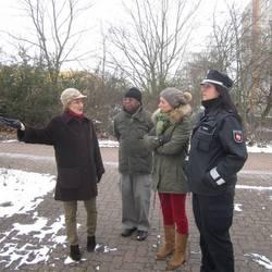 AG Picobello war gemeinsam mit der Polizei und Team Ordnung im Stadtteilunterwegs