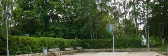 Ansicht des Pocket Parks