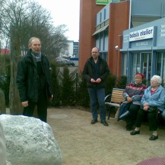 Eröffnung der Schmuckecke, Rede von Herrn Stadtrat Dürr und Herrn Gruben